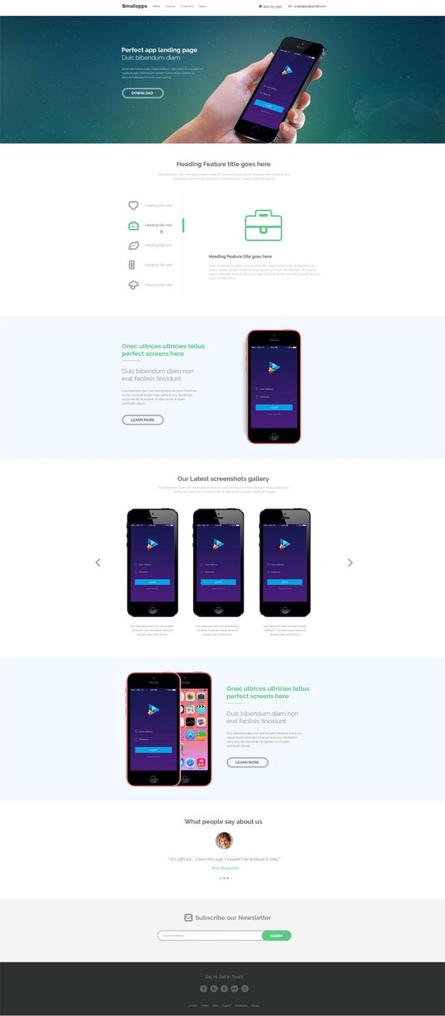 Smart-App-Landing-Page-PSD