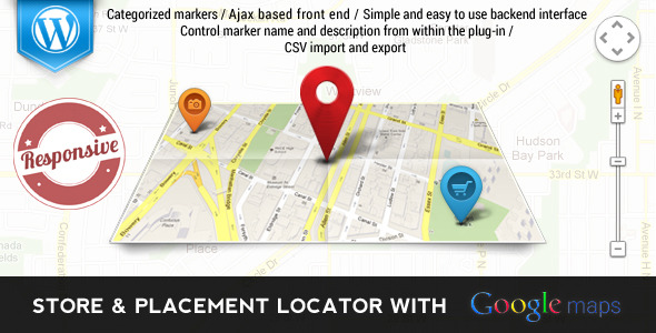 Store & Places Locator with Google Maps