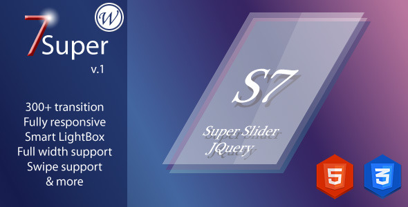 Super 7 - Responsive WordPress Image Slider Plugin