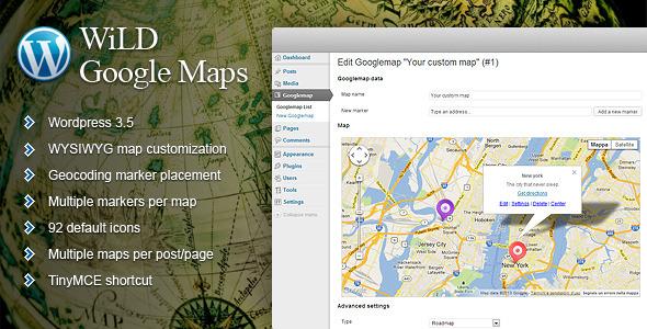 WiLD Google Maps