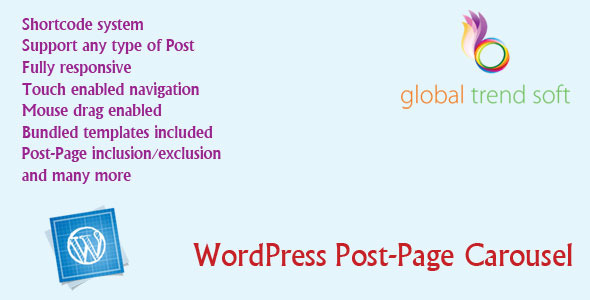 WordPress Post-Page Carousel