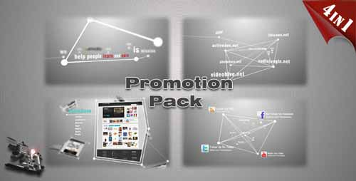 20 professional after effects product promo templates