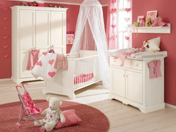 15 creative bedroom designs for baby or toddler designmaz for Baby girls bedroom designs