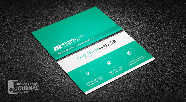 55 free creative business card templates designmaz clean minimal creative business card template accmission Gallery