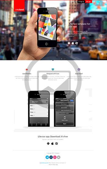 crealand-responsive-app-landing-page