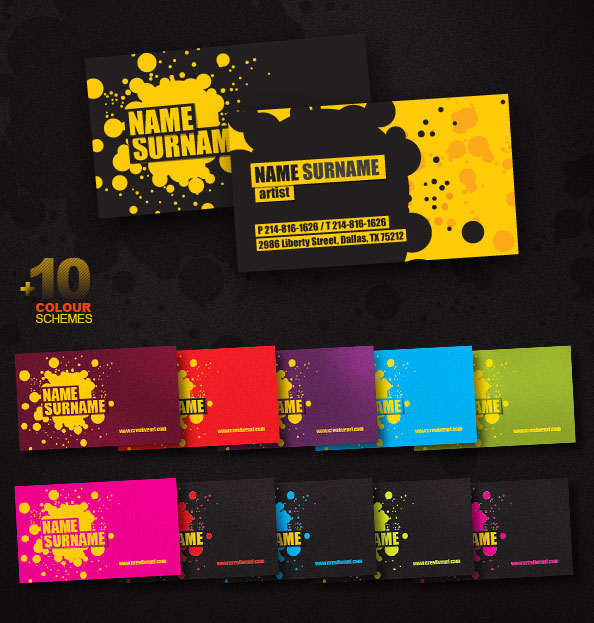 55 free creative business card templates designmaz creative business card psd template flashek