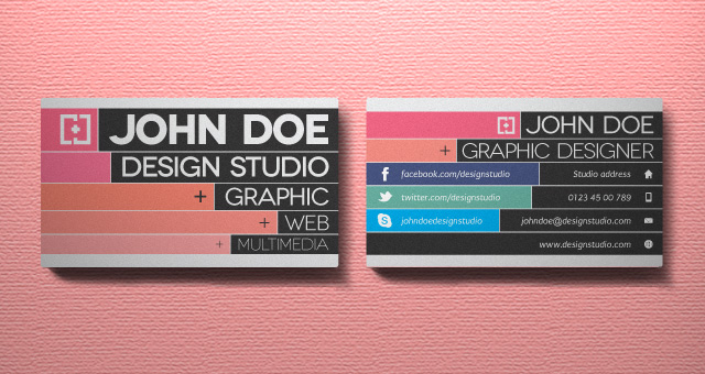 55 free creative business card templates designmaz creative business card vol 3 cheaphphosting Image collections