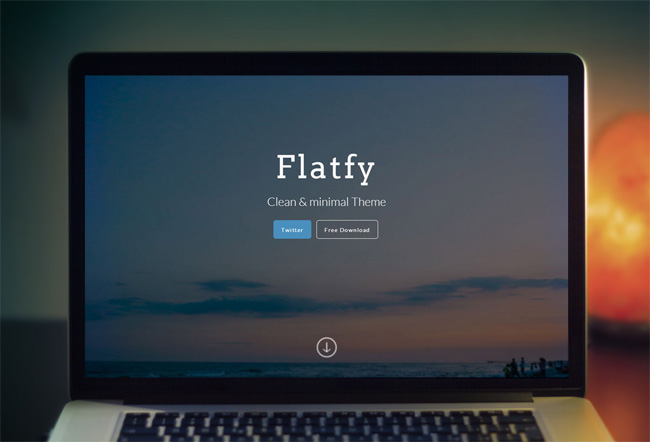 flatfy-clean-minimal-html-one-page-template