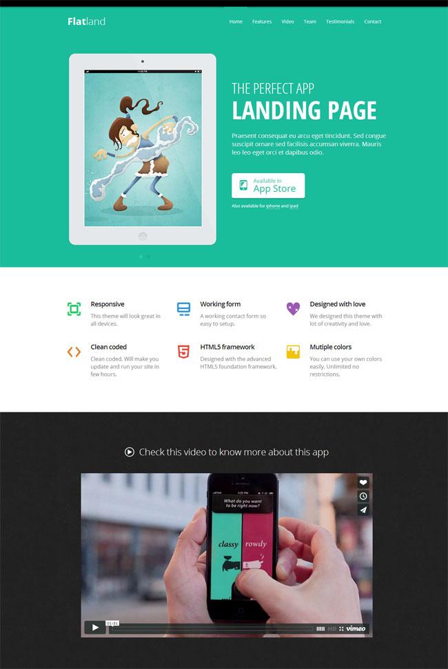 flatland-responsive-html5-app-landing-page