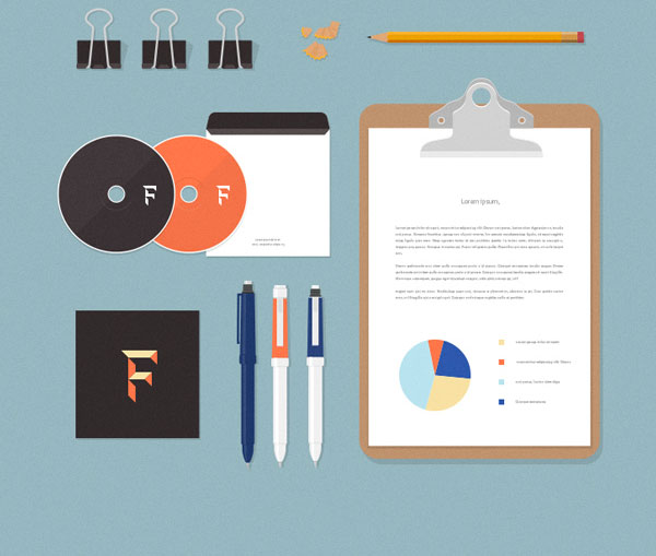free-flat-stationery-psd-mockups