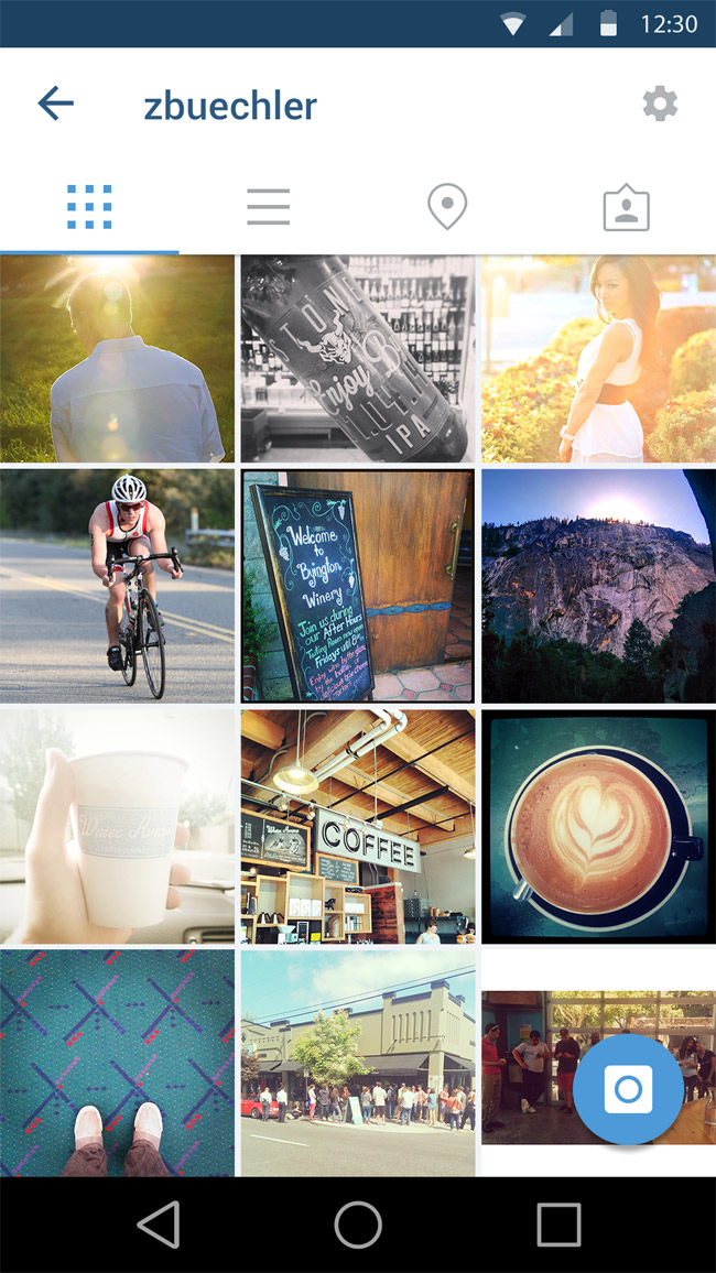 Instagram App Ui Design Psd Free Download