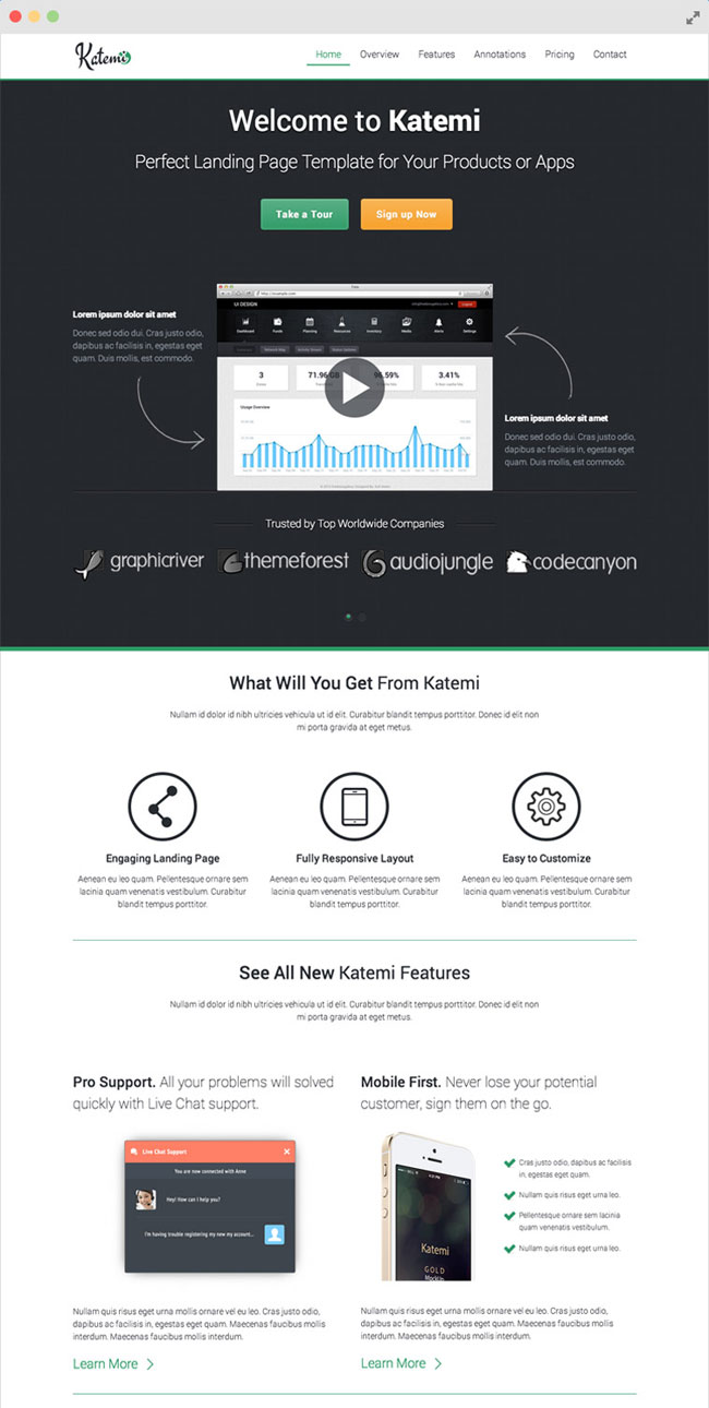 katemi-clean-product-and-app-landing-page