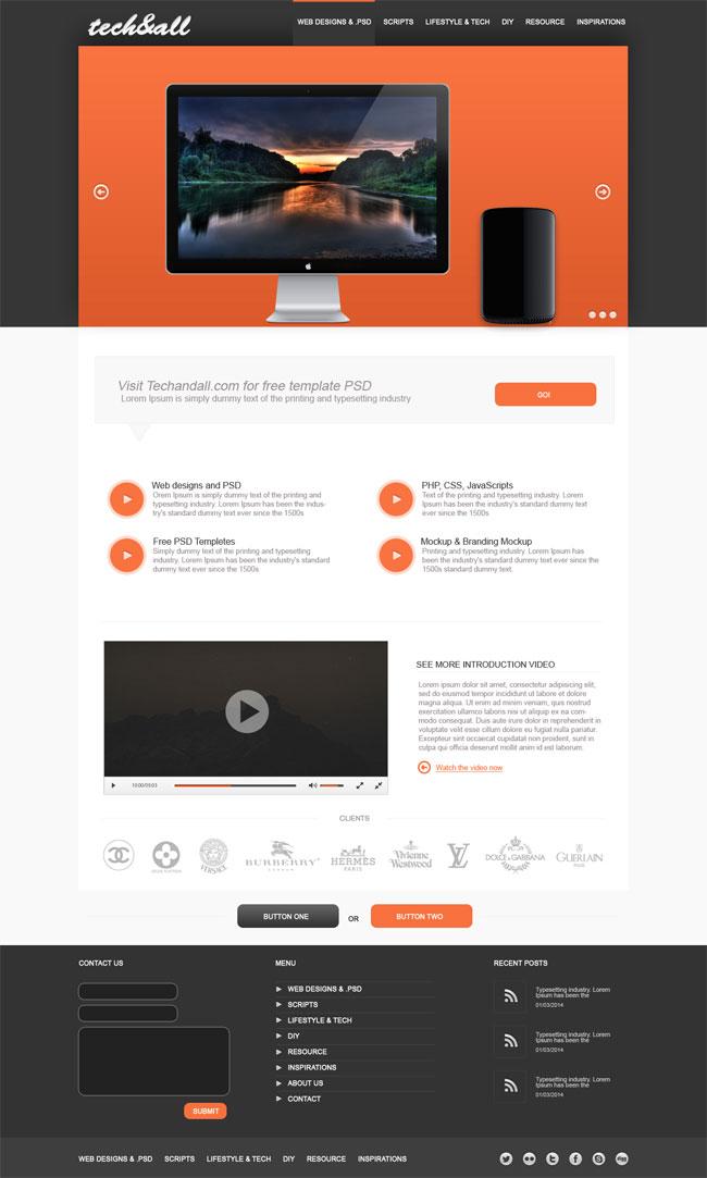 minimalist-landing-page-psd-template