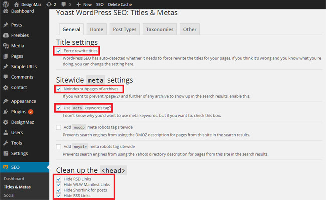 performance-settings-for-wordpress-seo-by-yoast-plugin-titles-metas-general