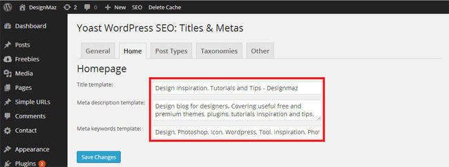 performance-settings-for-wordpress-seo-by-yoast-plugin-titles-metas-home