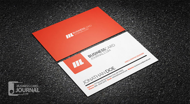 55 free creative business card templates designmaz simple clean creative business card template wajeb Image collections