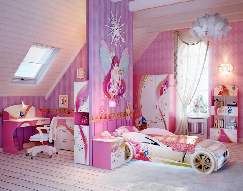 Bon Ideal Bedroom Designs For Teenager Girls