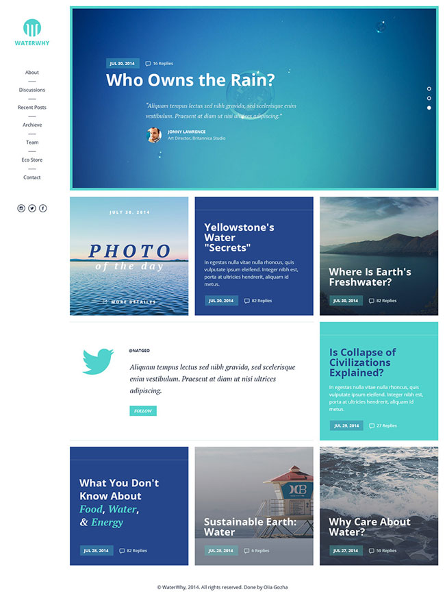 water-style-blog-psd-template