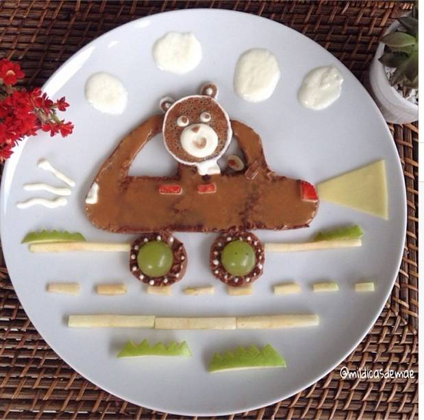 Cute and Creative Dishes for Children Lacking Appetite