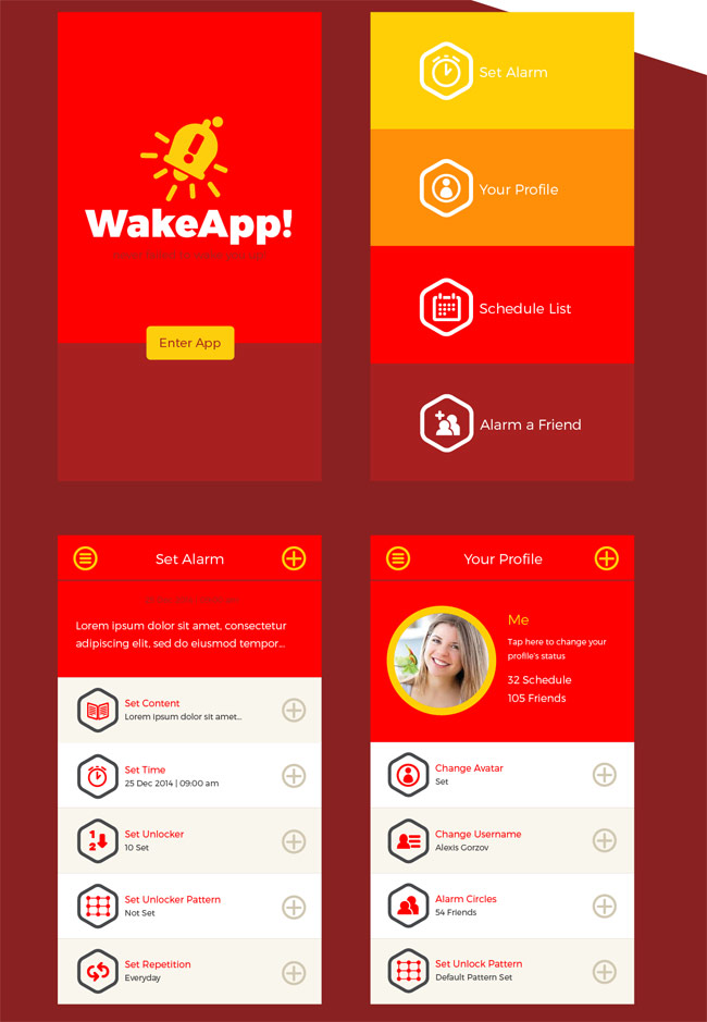 Alarm-Remainder-App-UI-Kit-PSD