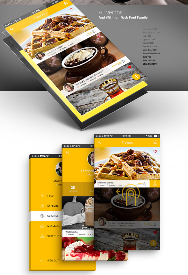 Cafegrapp-IOS-8-App-Design-UI-Kit