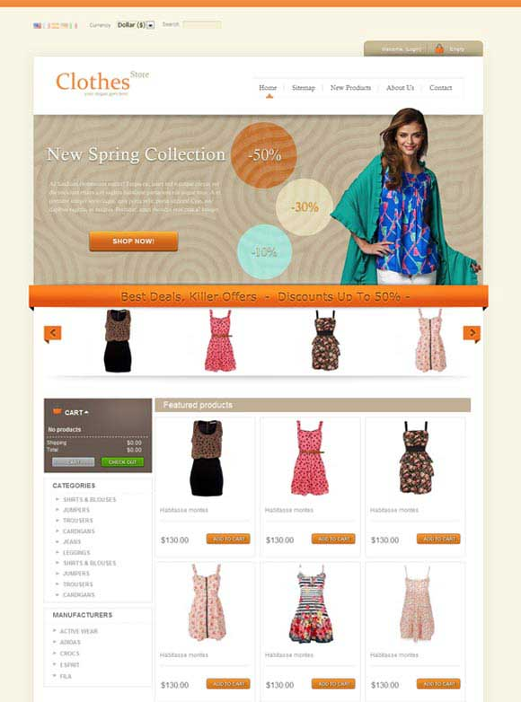 Clothes-Free-PrestaShop-Theme