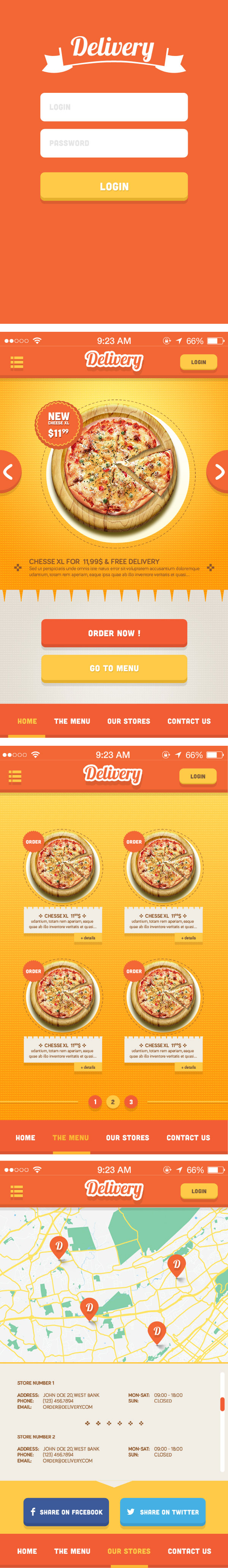 Delivery-App-for-iPhone-UI-Kit-PSD