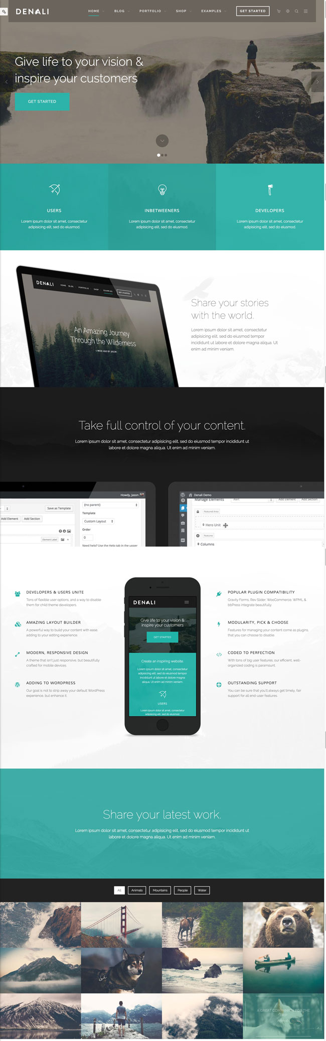 Denali-Responsive-Multi-Purpose-portfolio-WordPress-Theme
