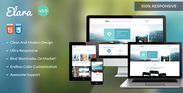 Elara - Multipurpose HTML Template
