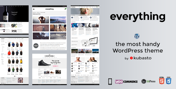 Everything - Responsive WordPress Theme