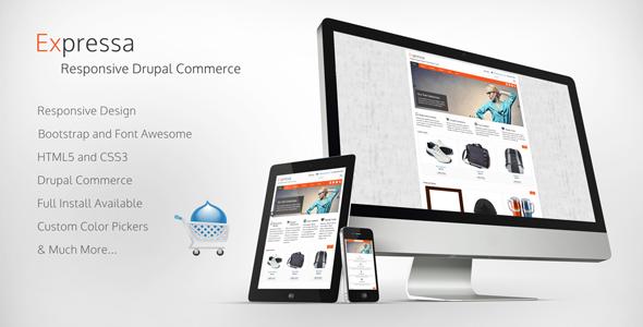 Expressa - Responsive Drupal Commerce Theme