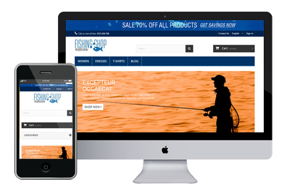 Fishing – Sport Free Responsive Prestashop Templates