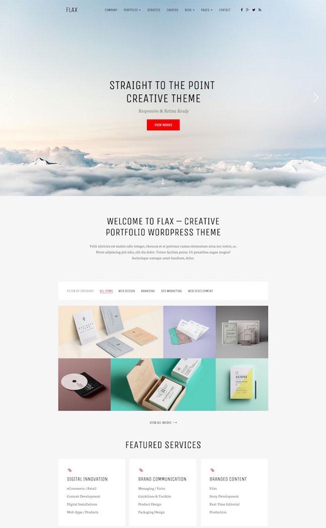 Flax-A-Responsive-Portfolio-WordPress-Theme