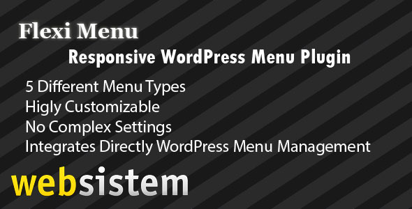 Flexi Menu WordPress Plugin