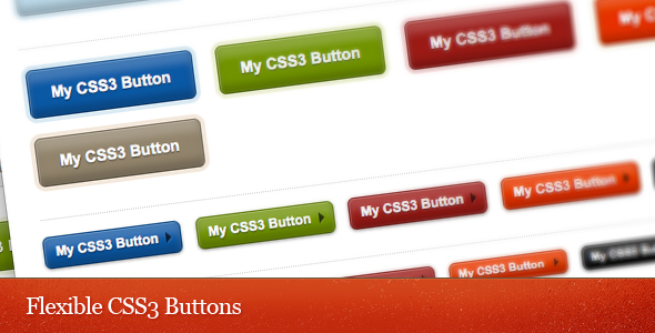 Flexible CSS3 Buttons Set