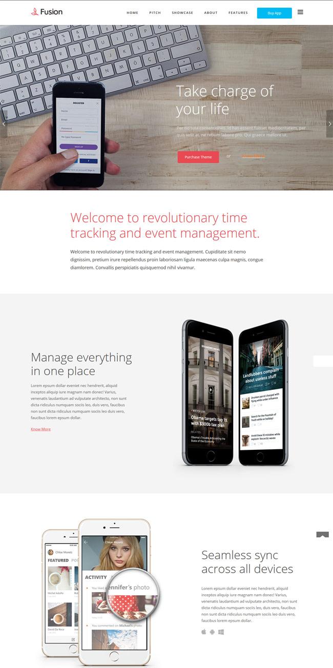 Fusion-Mobile-App-Landing-WordPress-Theme