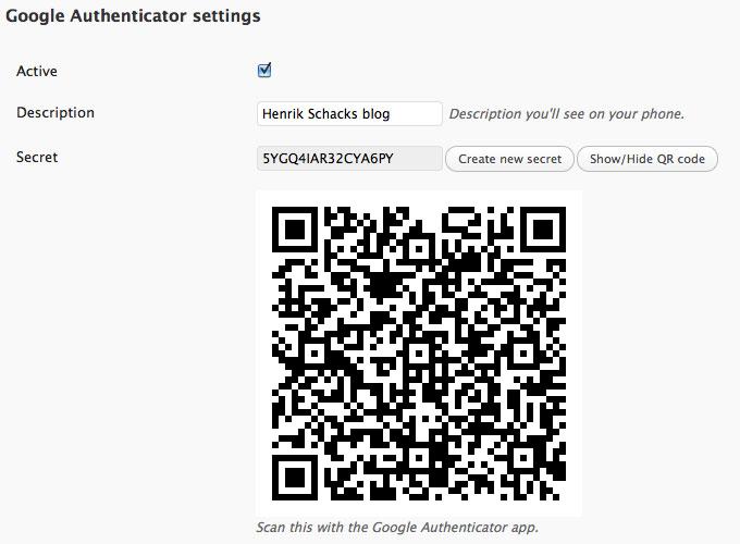 Google-Authenticator-for-WordPress