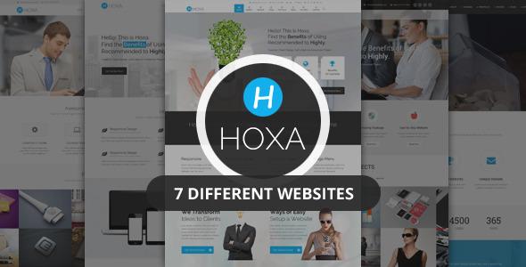 Hoxa - Responsive MultiPurpose HTML5 Template