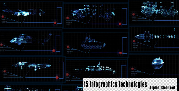Infographics Technologies 15 Pack