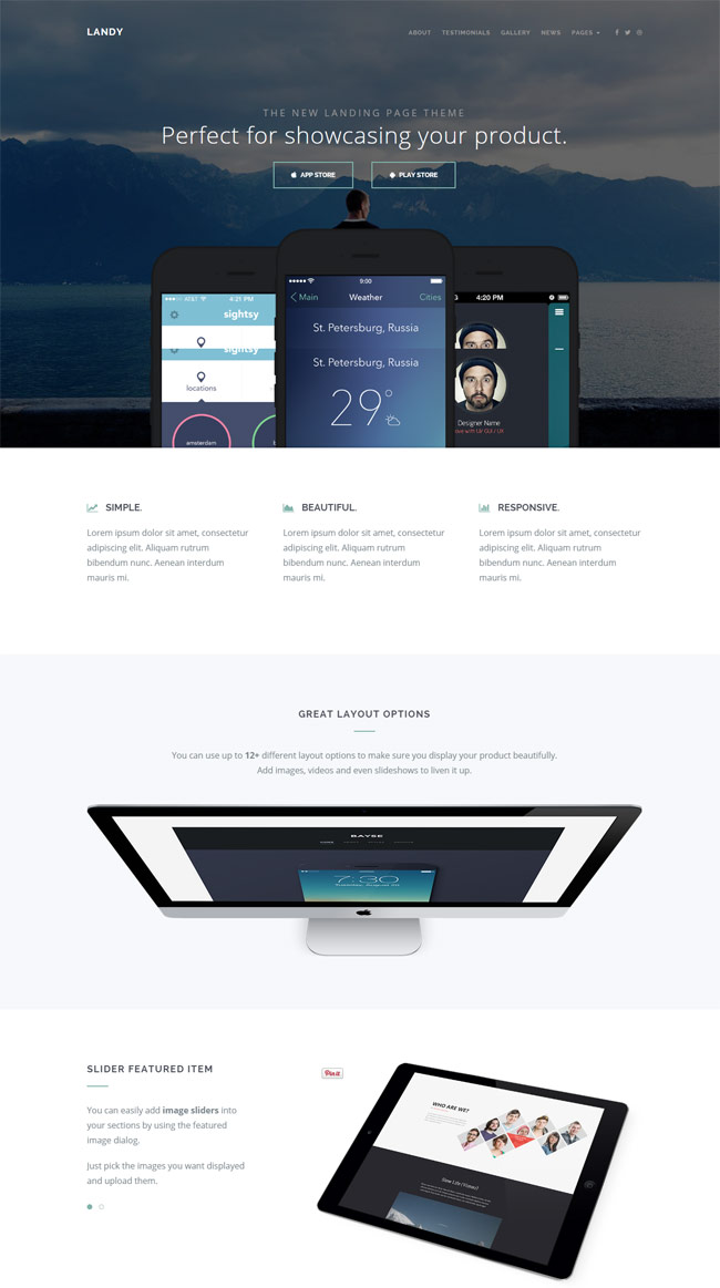 Landy-Clean-App-Landing-Page-Theme