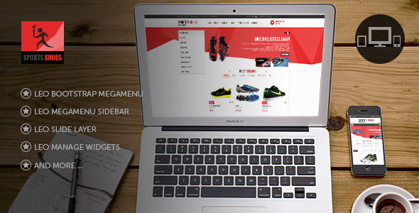 Leo Football Wear Prestashop Theme