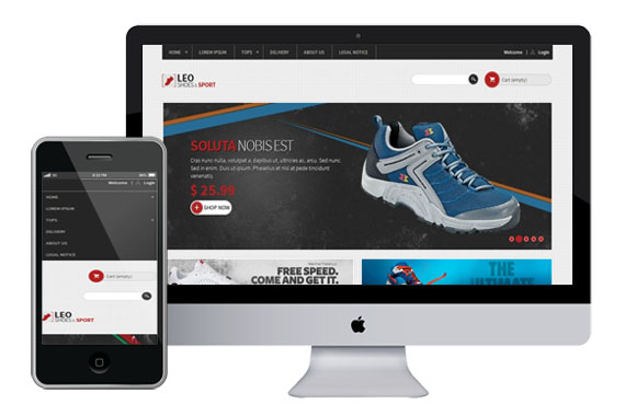 LeoSport Shoes – Free Prestashop Themes