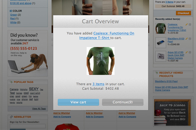 Magento-Convenient-Shopping-Cart