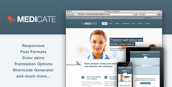 Medicate - Responsive Medical and Health Theme