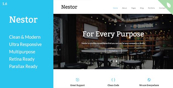 Nestor - Responsive HTML5 Template