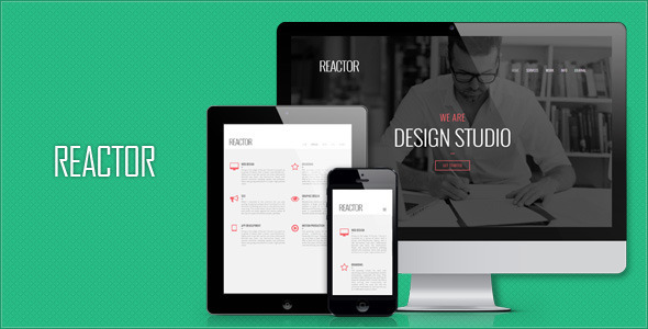 Reactor - Responsive Minimalist HTML5 Template