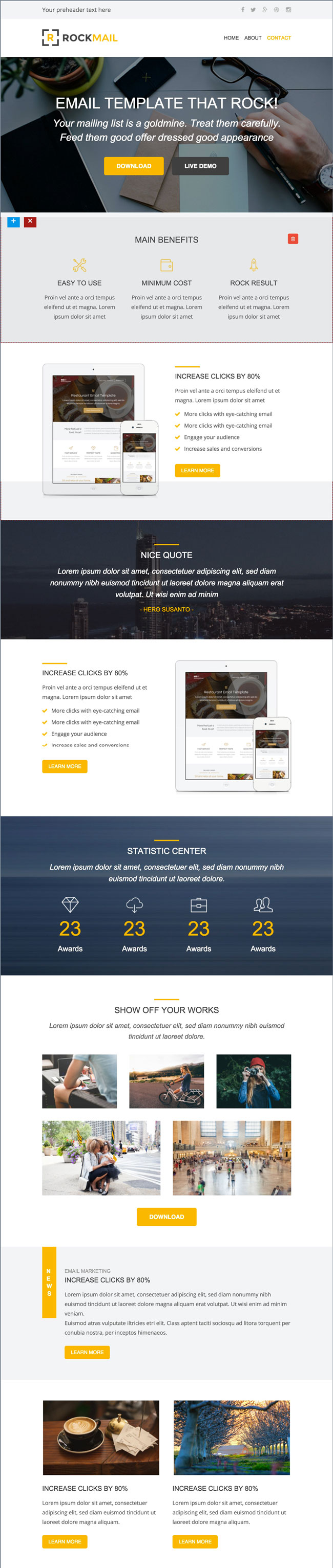 Rockmail-Multipurpose-Email-Builder-Access