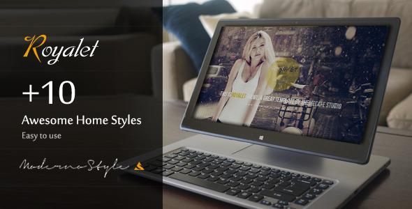 Royalet - Creative Responsive Portfolio Template