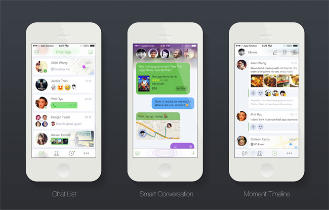 Smart-Chat-App-UI-PSD