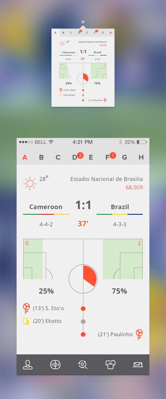 Soccer-App-UI-PSD